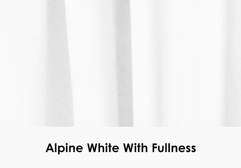 Alpine White with Fullness