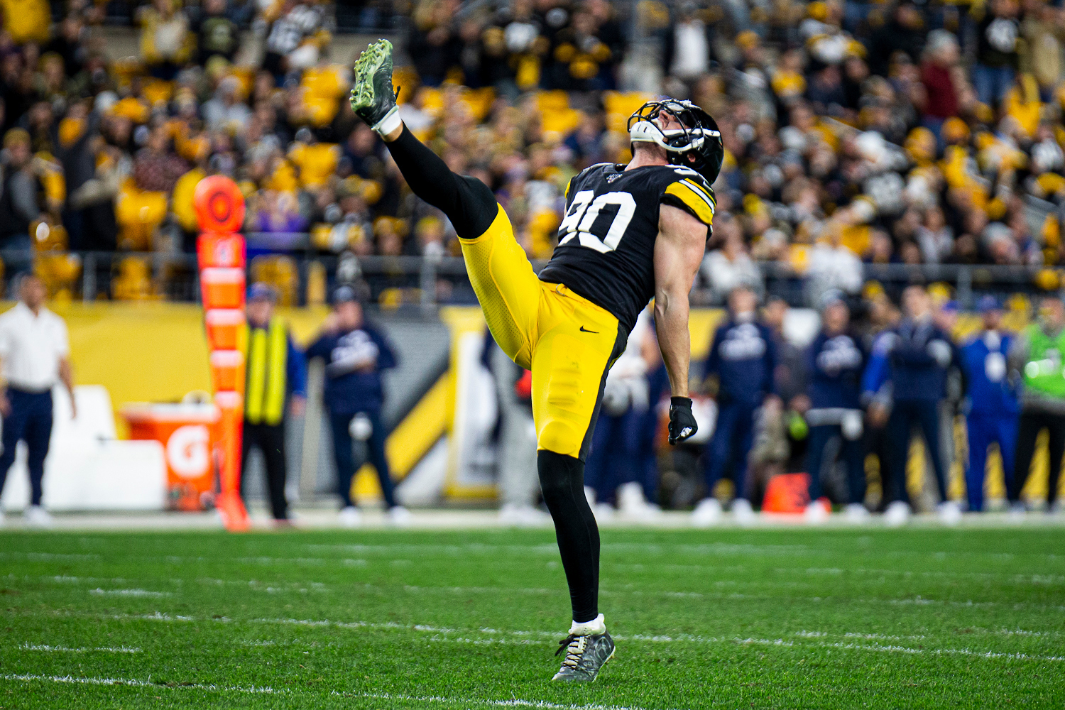 Lolley S Kickoff Steelers Browns Matchups Stats Data And