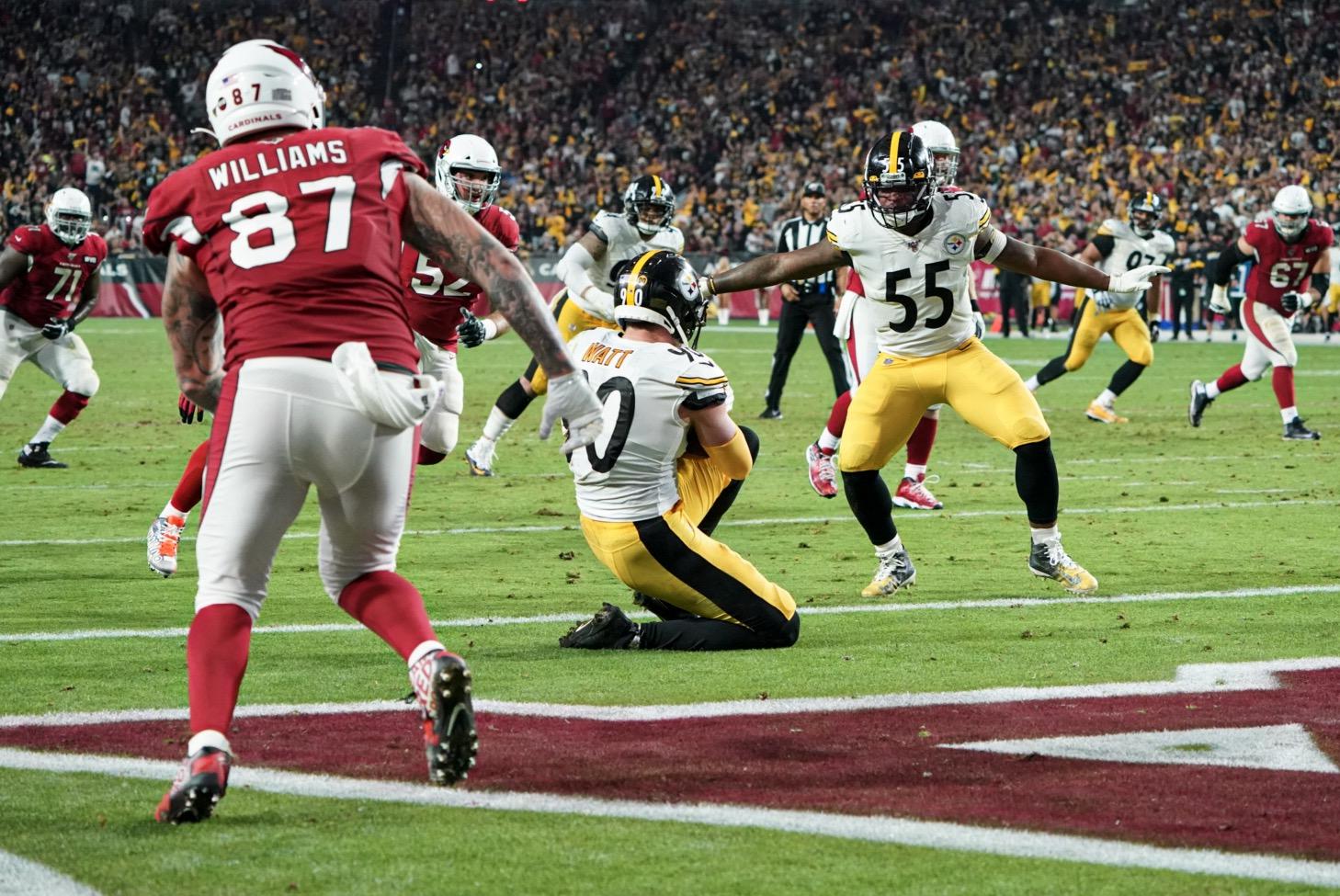 TJ-Watt-pittsburgh-steelers-arizona-cardinals-interception