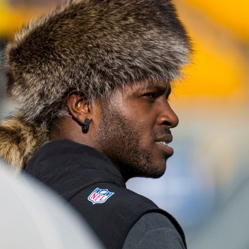 Antonio-Brown-pittsburgh-steelers-fur-hat