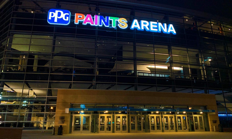 Penguins still light up arena for Pride Night after game gets postponed