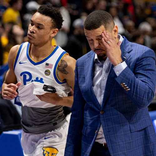 Jeff-Capel-pitt-panthers-wake-forest-trey-mcgowens-basketball-walk
