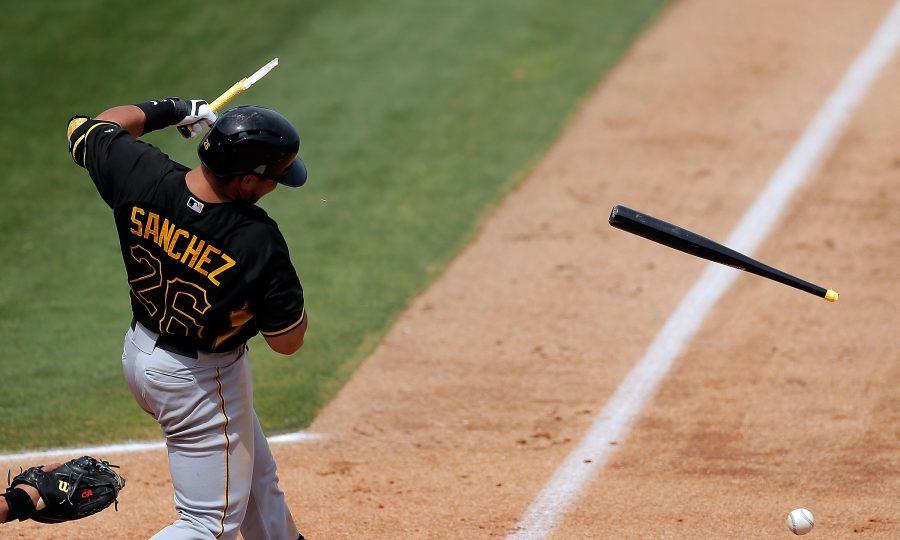 Tony-Sanchez-Pittsburgh-Pirates-busted-bat-draft