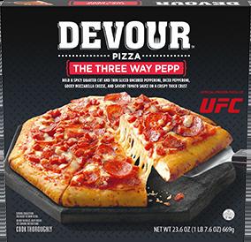 The Three Way Pepp Pizza
