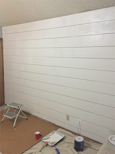 How To Install Pre Painted Shiplap Metrie