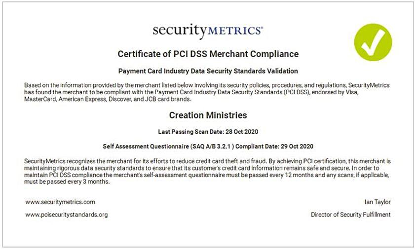 CMI Australia PCI Compliance
