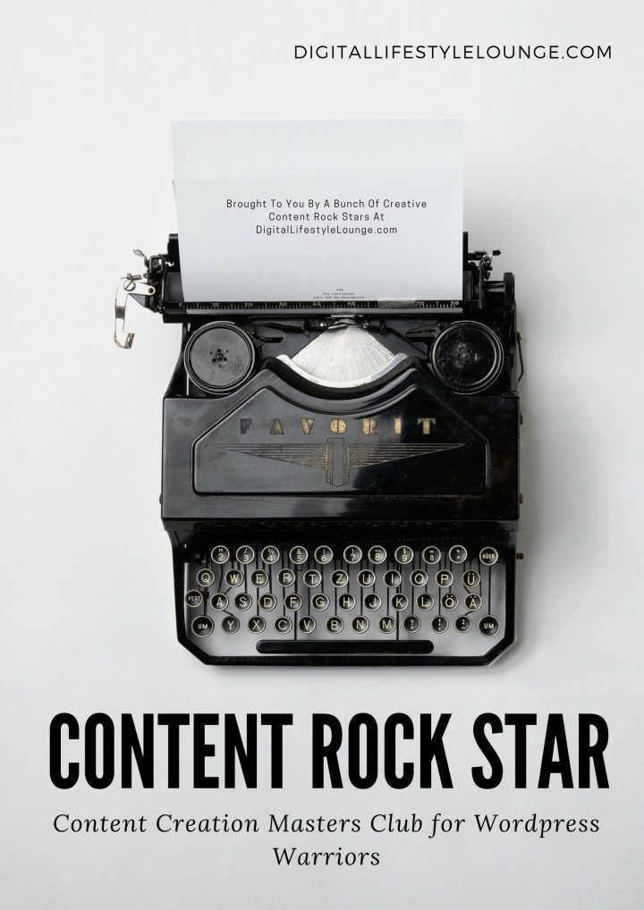 Content Rock Star Content Creation Masters Club for Wordpress Warriors