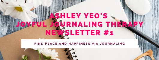 Joyful Journaling Therapy Newsletter #1 - Find Peace and Happiness Via Journaling - Printable - Members Only
