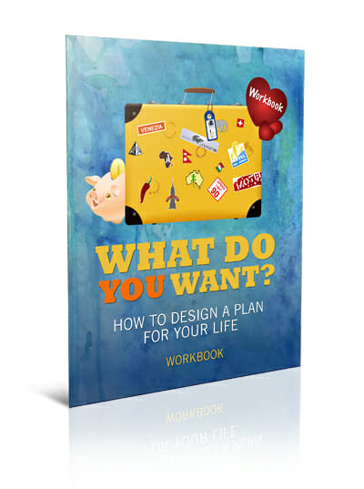 Big Lovely Life Designer - What Do You Want? How To Design A Plan For Your Life Workbook Mockup 1