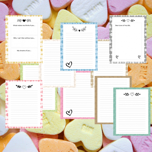 Valentine's Day Couples Journal