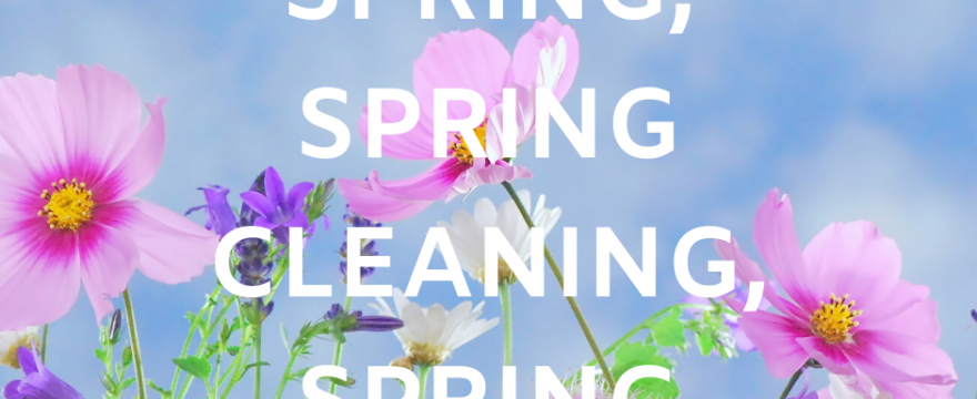 March 2020 Journal and Self-Care Reading Flipbook - Spring, Spring Cleaning, Spring Break