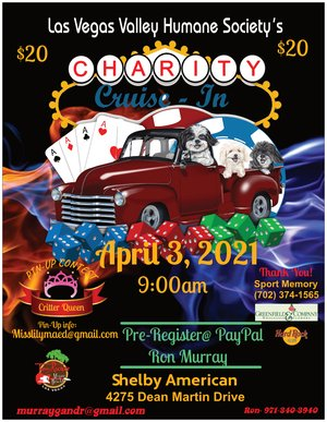 Las Vegas Valley Humane Society Charity Cruise-In