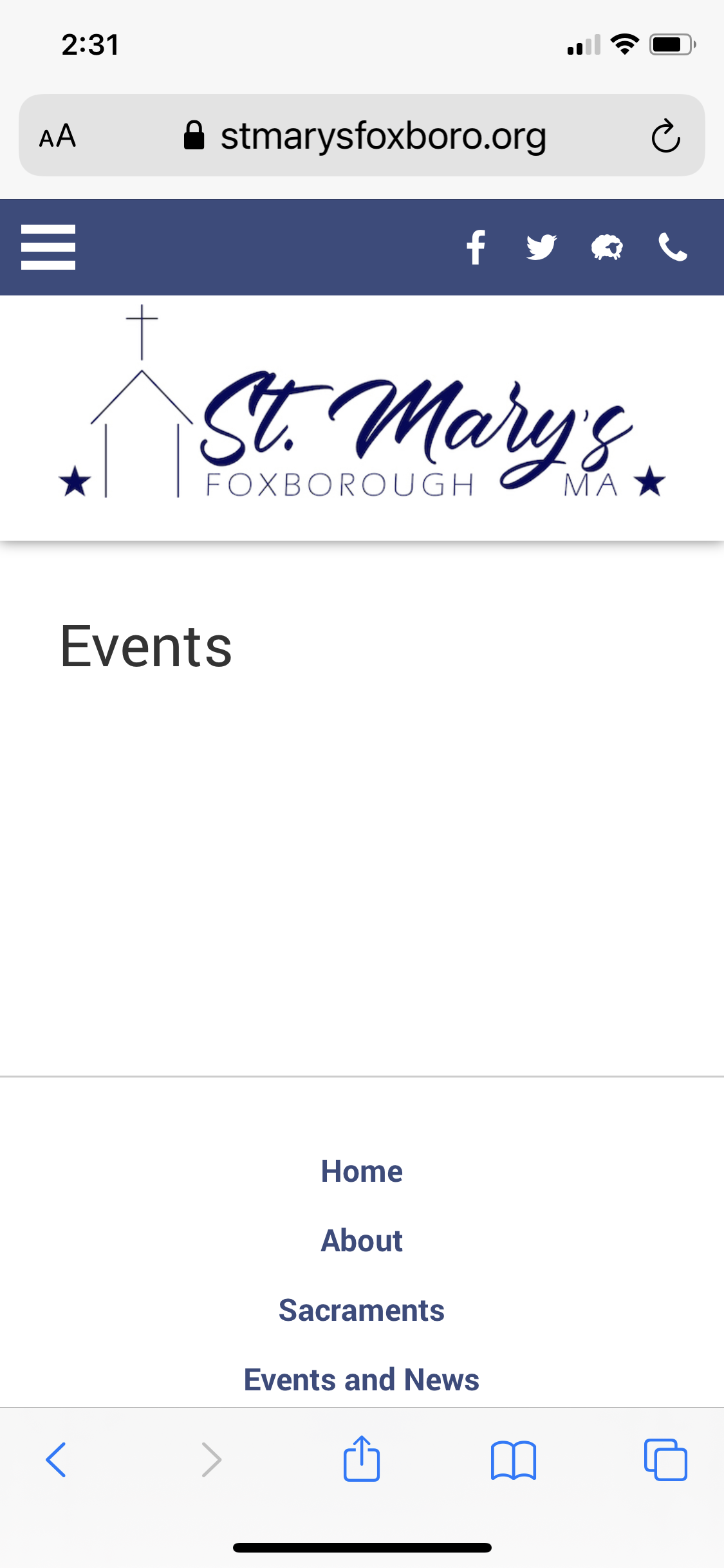 St. Mary's Christmas Fair