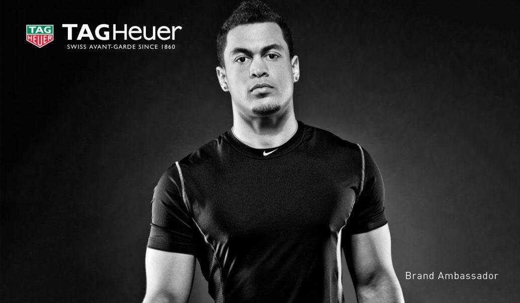 Giancarlo Stanton brand ambassador for Tag Heuer