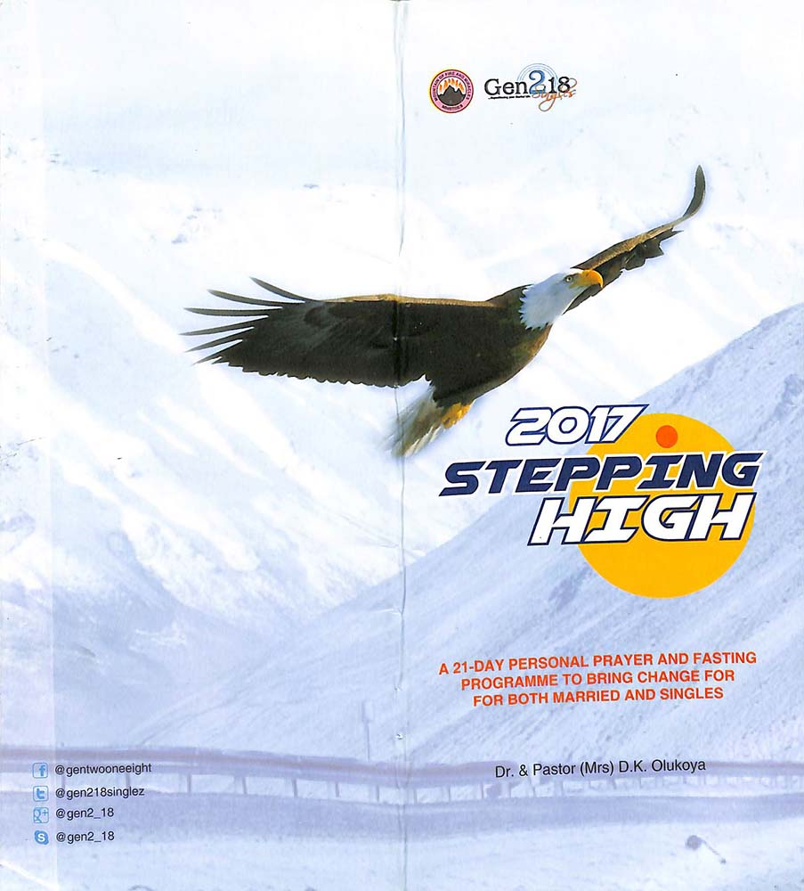2017 Stepping High: 21-Day Personal Prayer and Fasting Programme to Bring Change for Singles