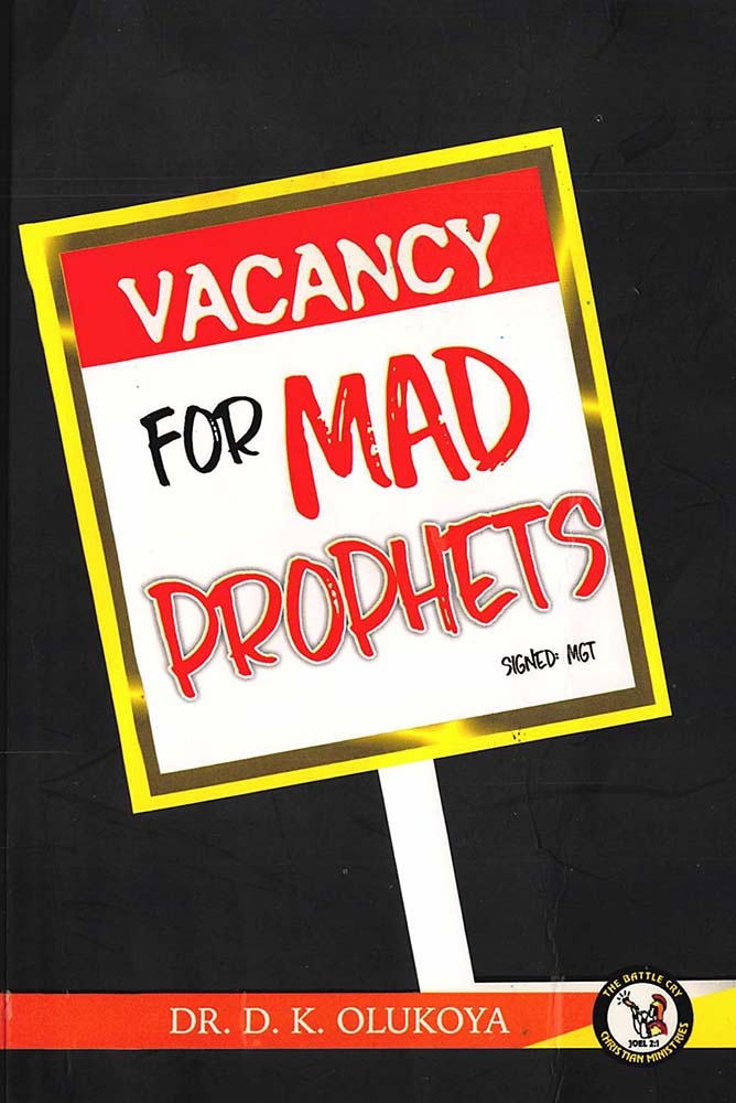 Vacancy for Mad Prophet