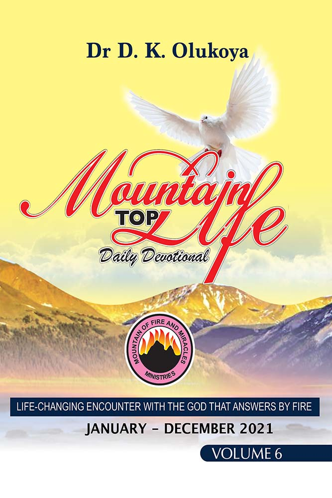 Mountain Top Life Daily Devotional 2021: Volume 6: January to December