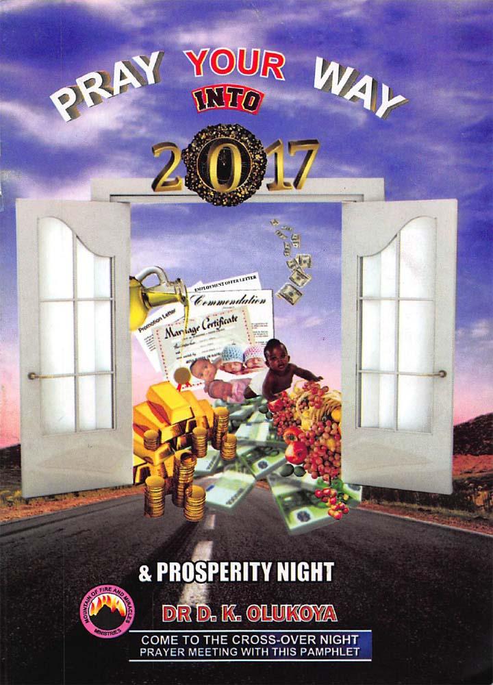 Pray your way into 2017