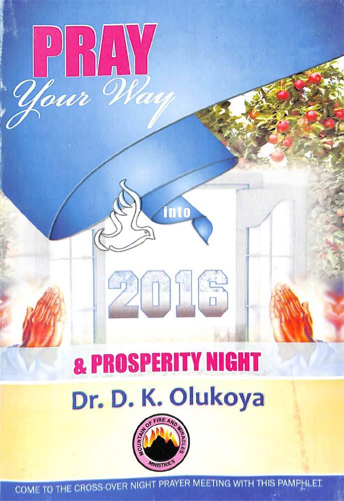 Pray Your Way into 2016
