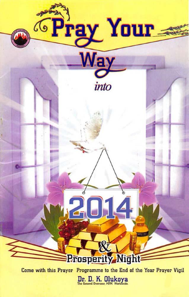 Pray Your Way into 2014