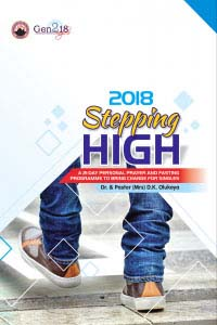 2018 Stepping High: 21-Day Personal Prayer and Fasting Programme to Bring Change for Singles