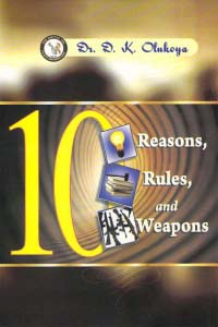 10 Reasons, 10 Rules, 10 Weapons