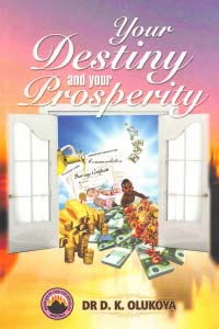 Your Destiny and Your Prosperity