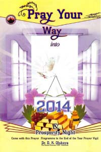 Pray Your Way into 2014