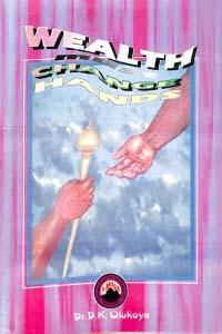 Wealth must change hands