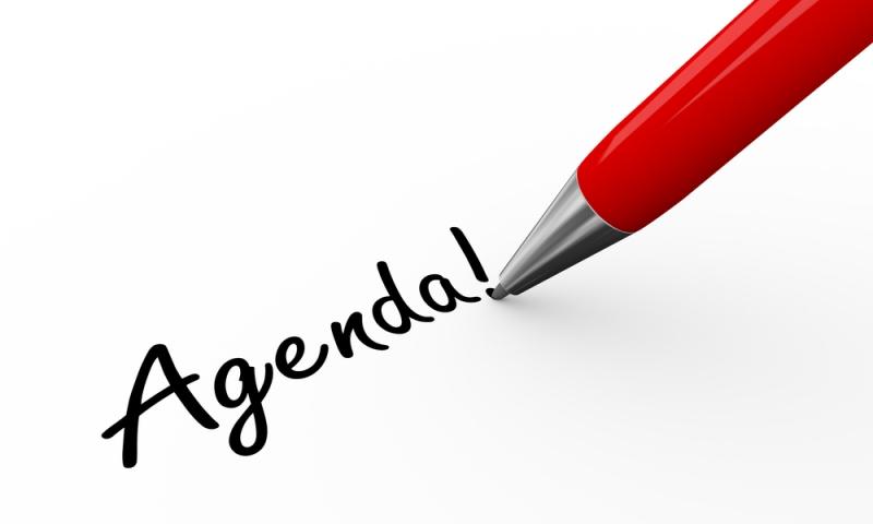 agenda of board meeting - fourth quarter
