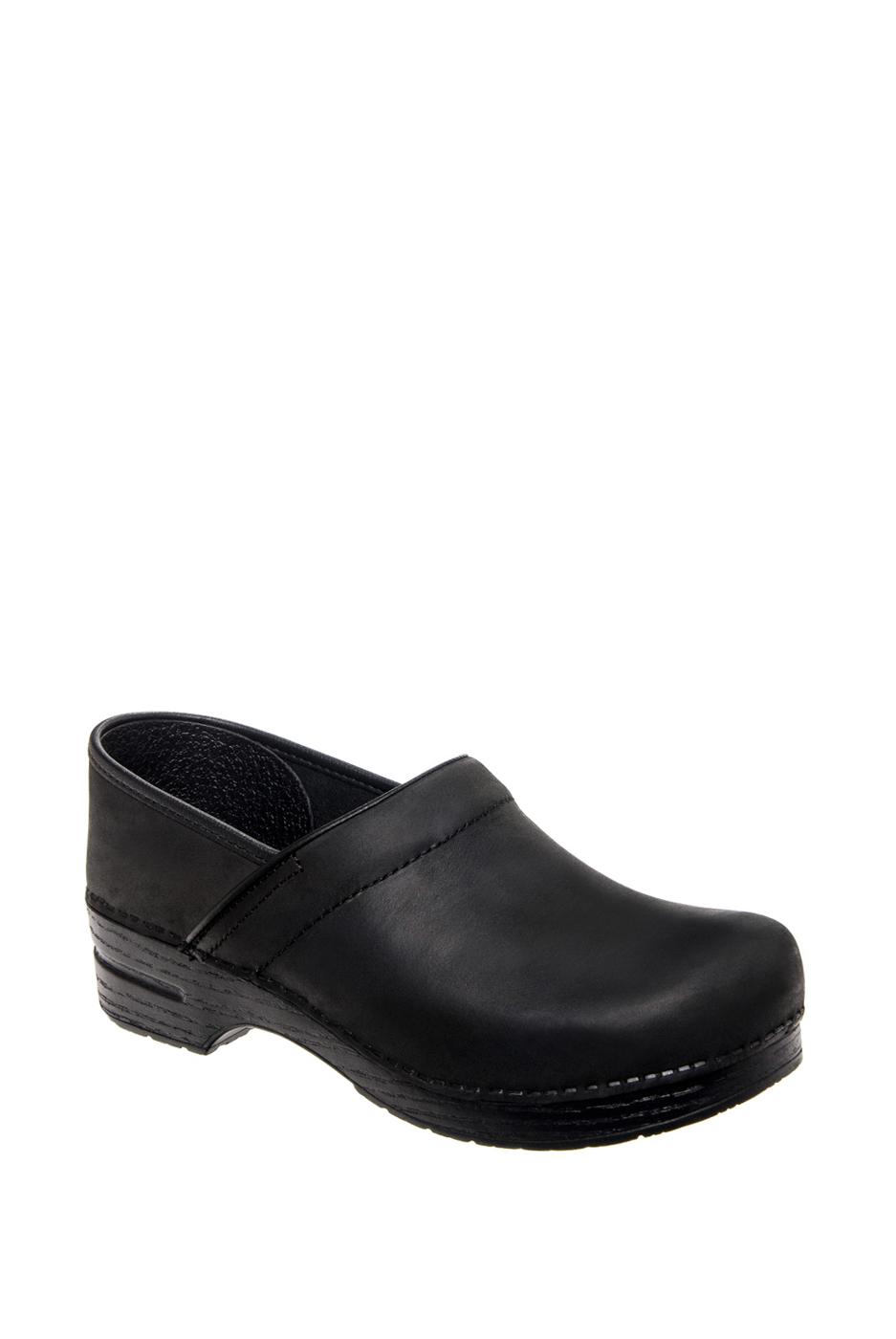 Dansko Professional Oiled Clogs - Black