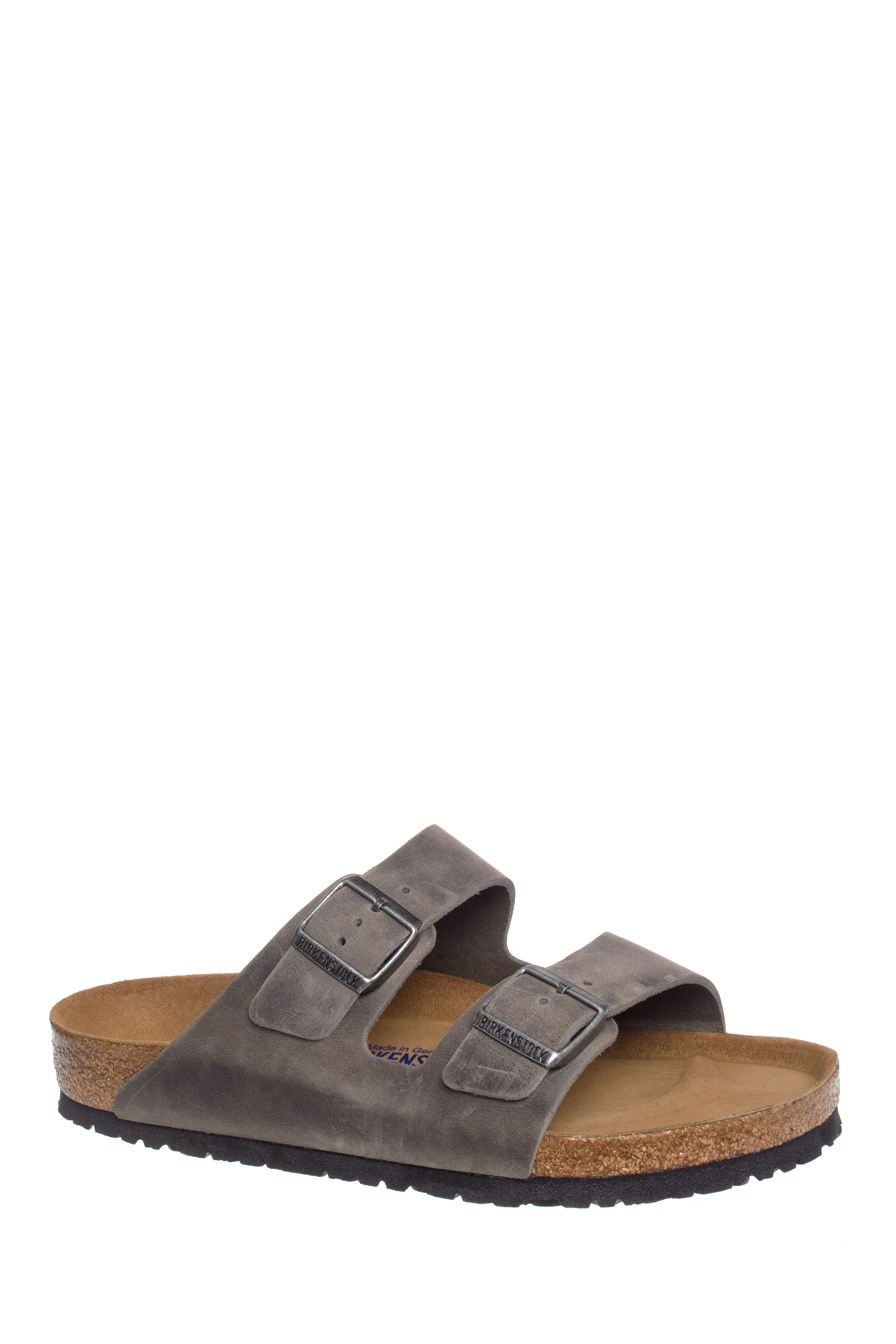 Birkenstock Arizona Slide Sandals - Iron