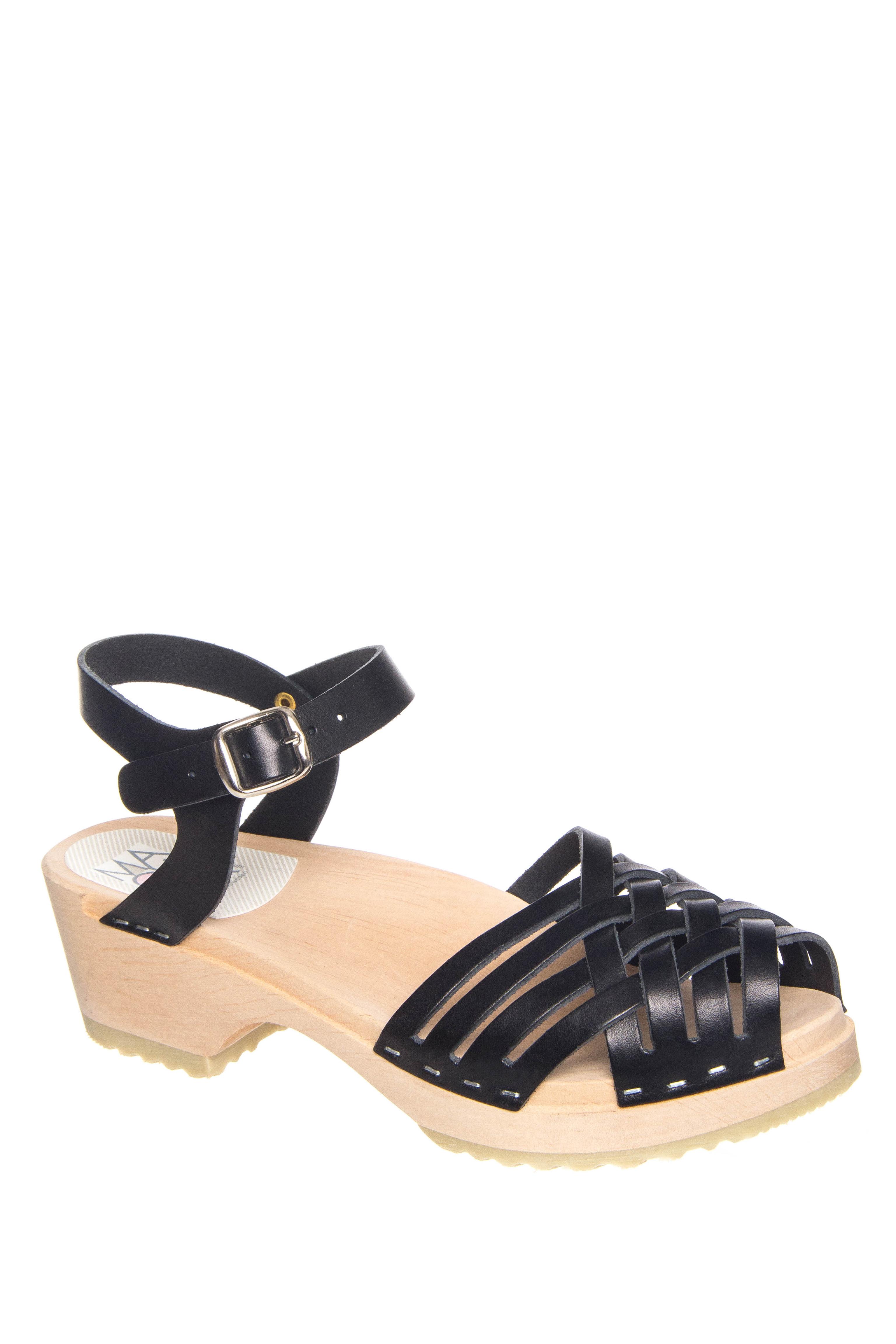 Maguba Palma Low Heel Sandals