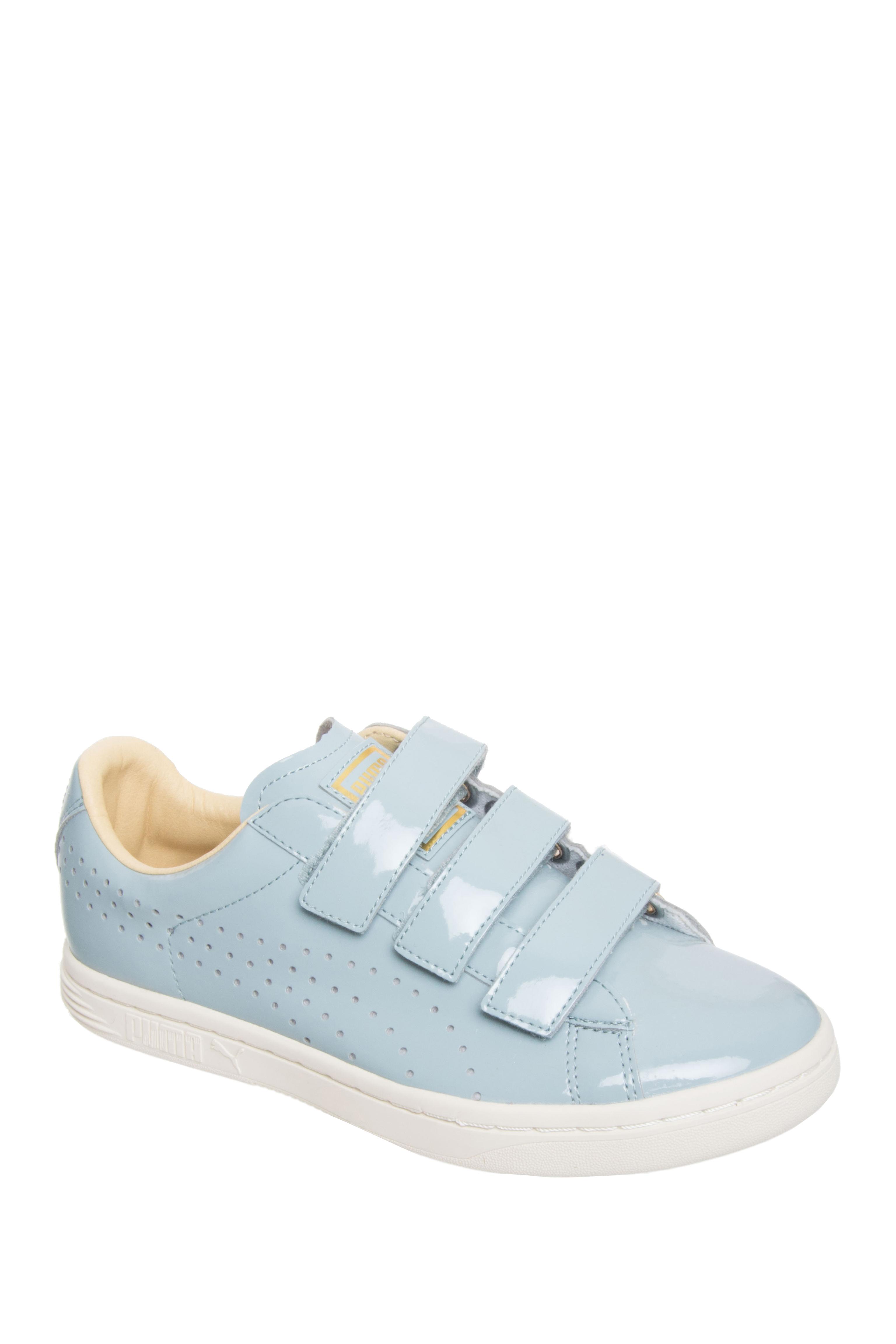 Puma Court Star Velcro Low Top Sneakers - Slate