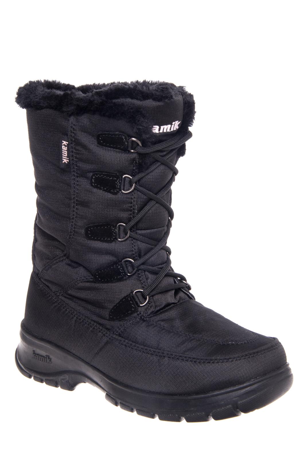 KAMIK Brooklyn Mid Calf Winter Boots - Black