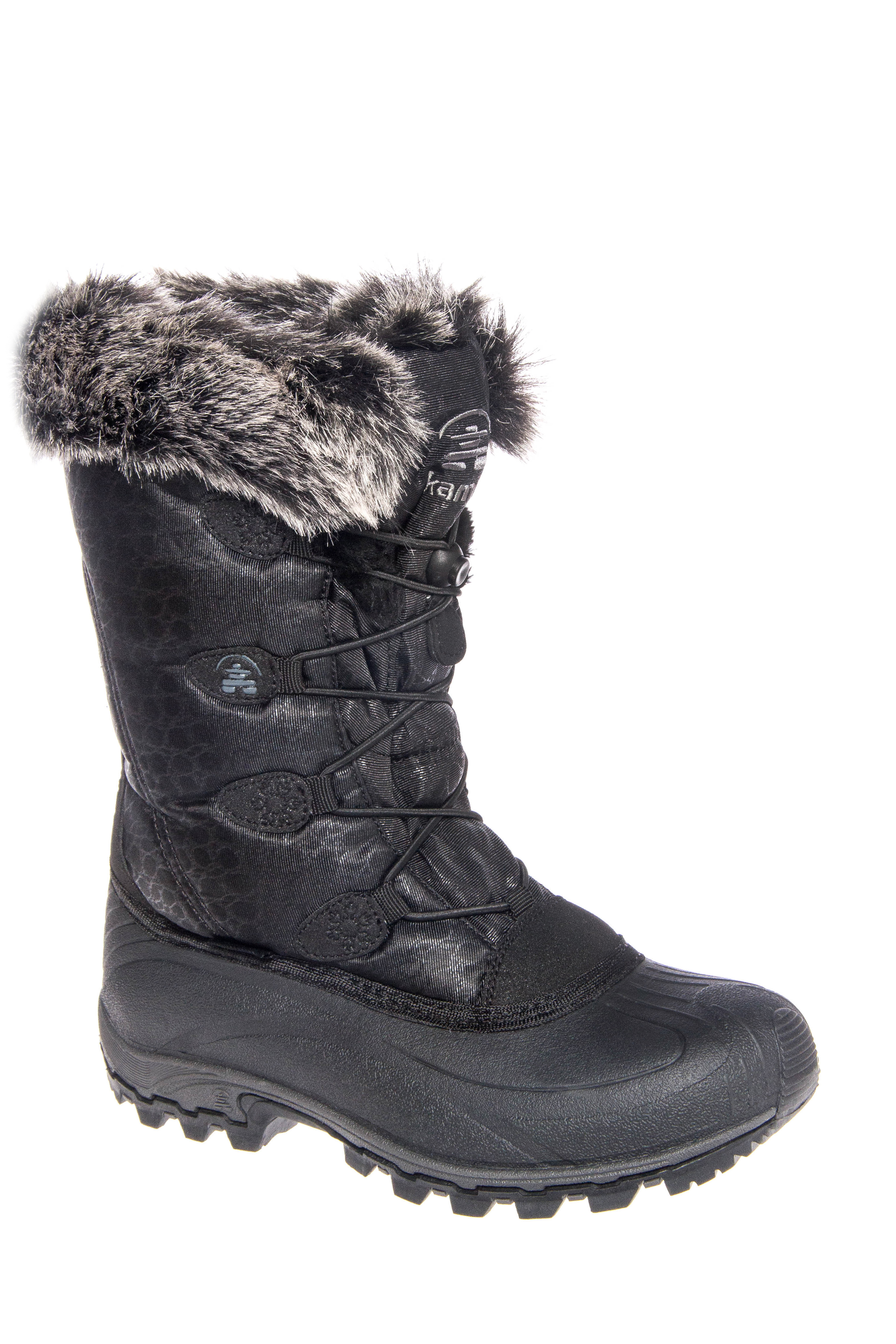 Kamik Momentum Snow Boots - Black