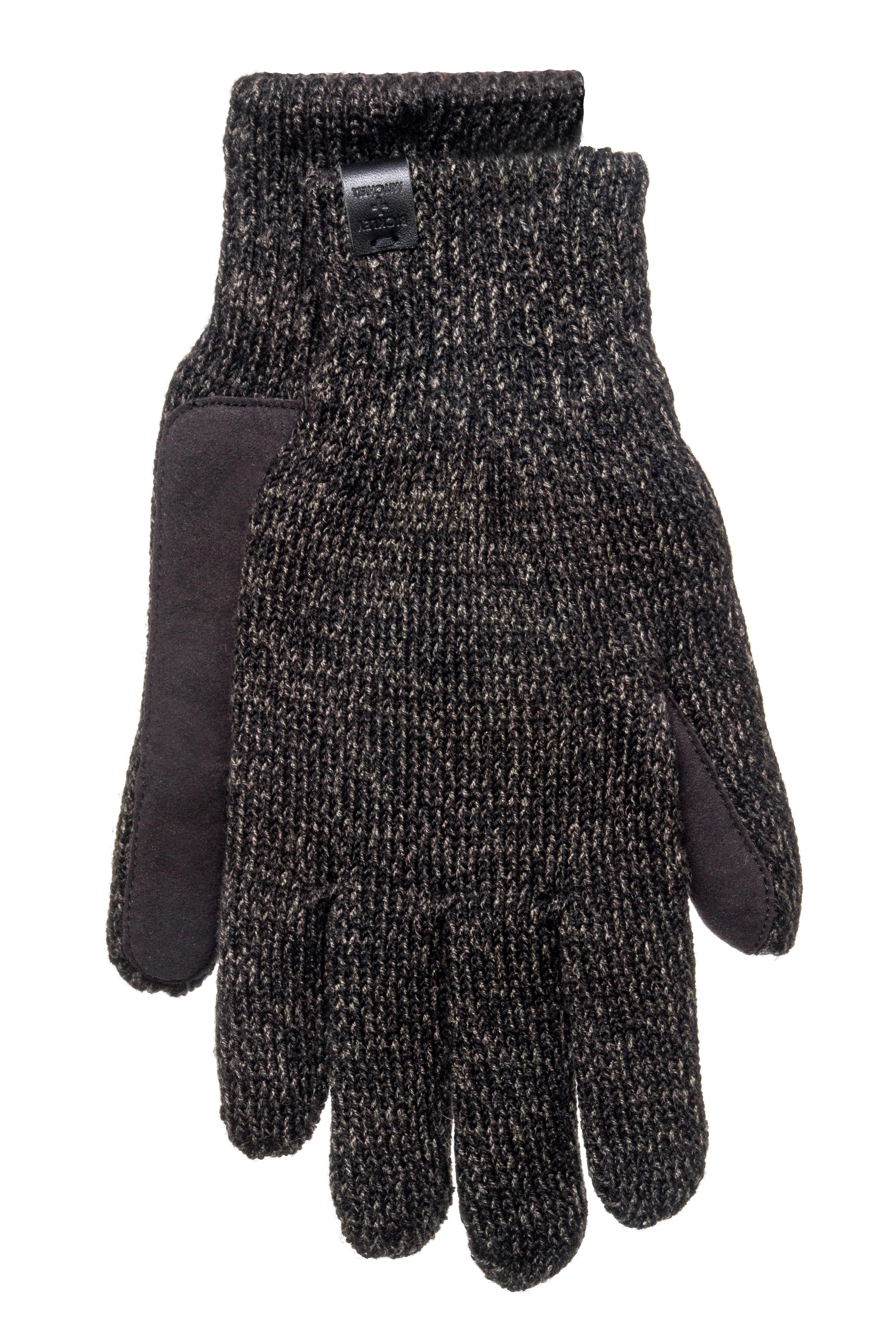 Bickley + Mitchell Men's Twist Gloves - Black