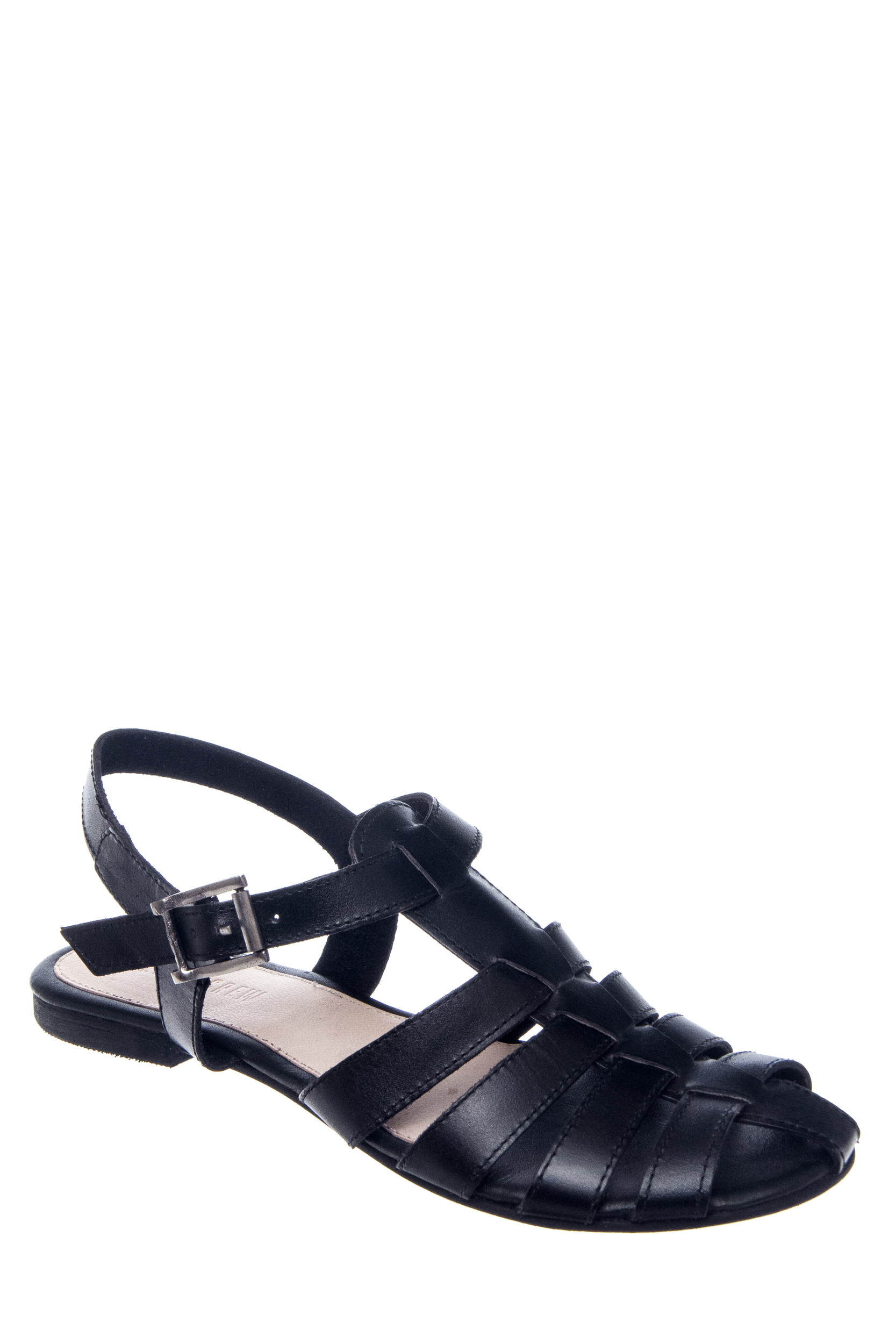 Chelsea Crew Bubble Strappy Flats Sandals - Black