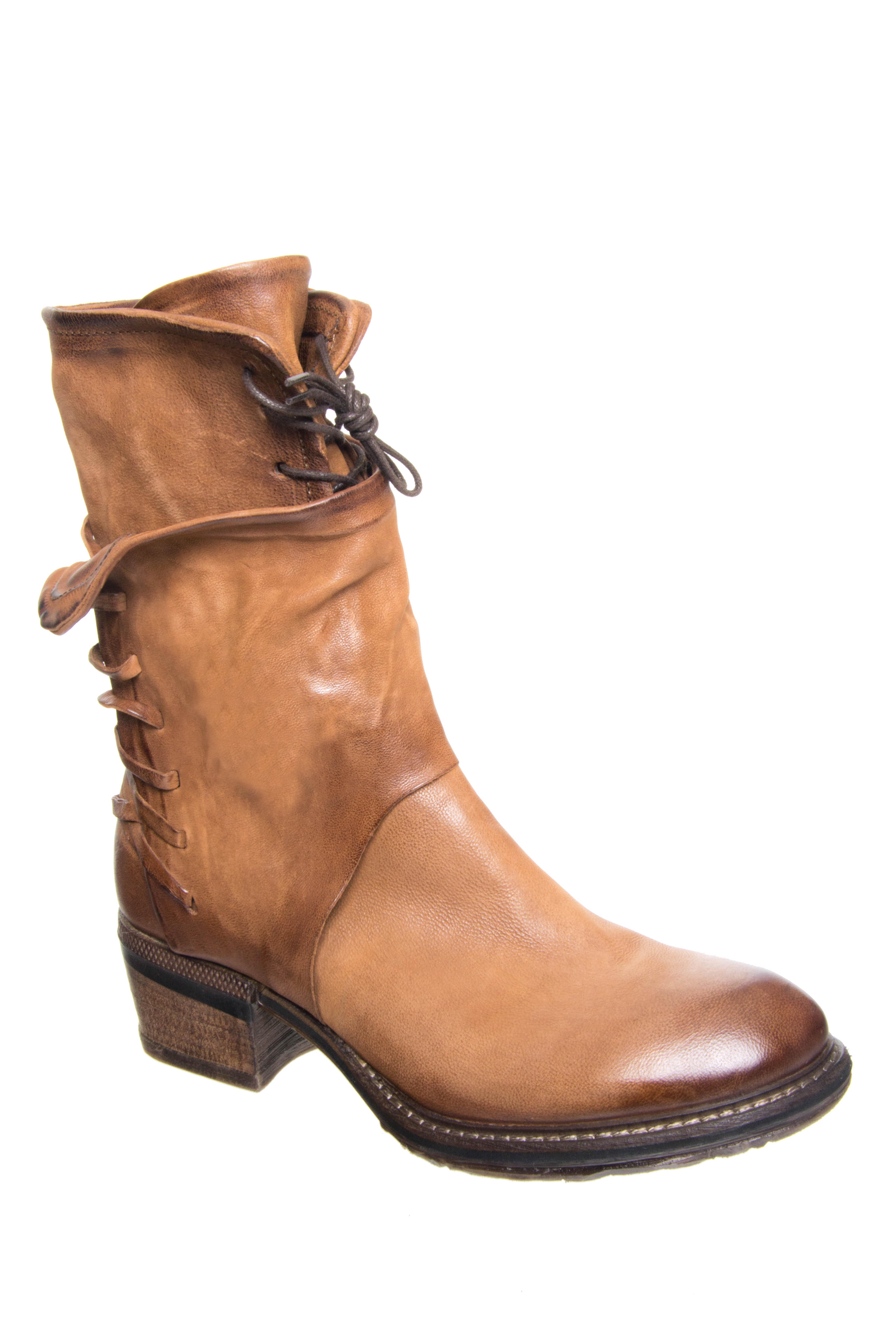 A.S.98 Chet Mid Heel Boots - Castagna