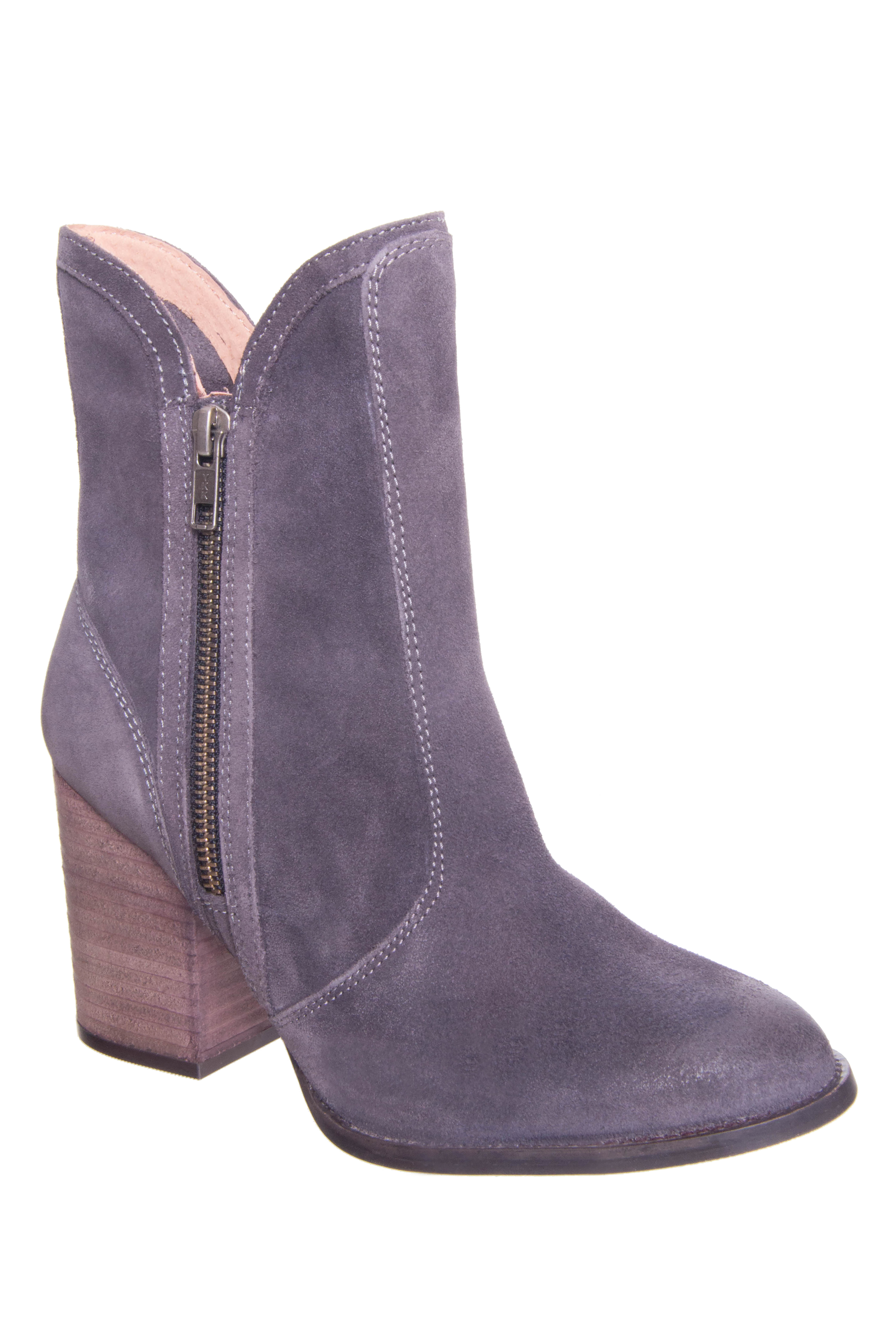Seychelles Lori Penny High Heel Boots - Grey