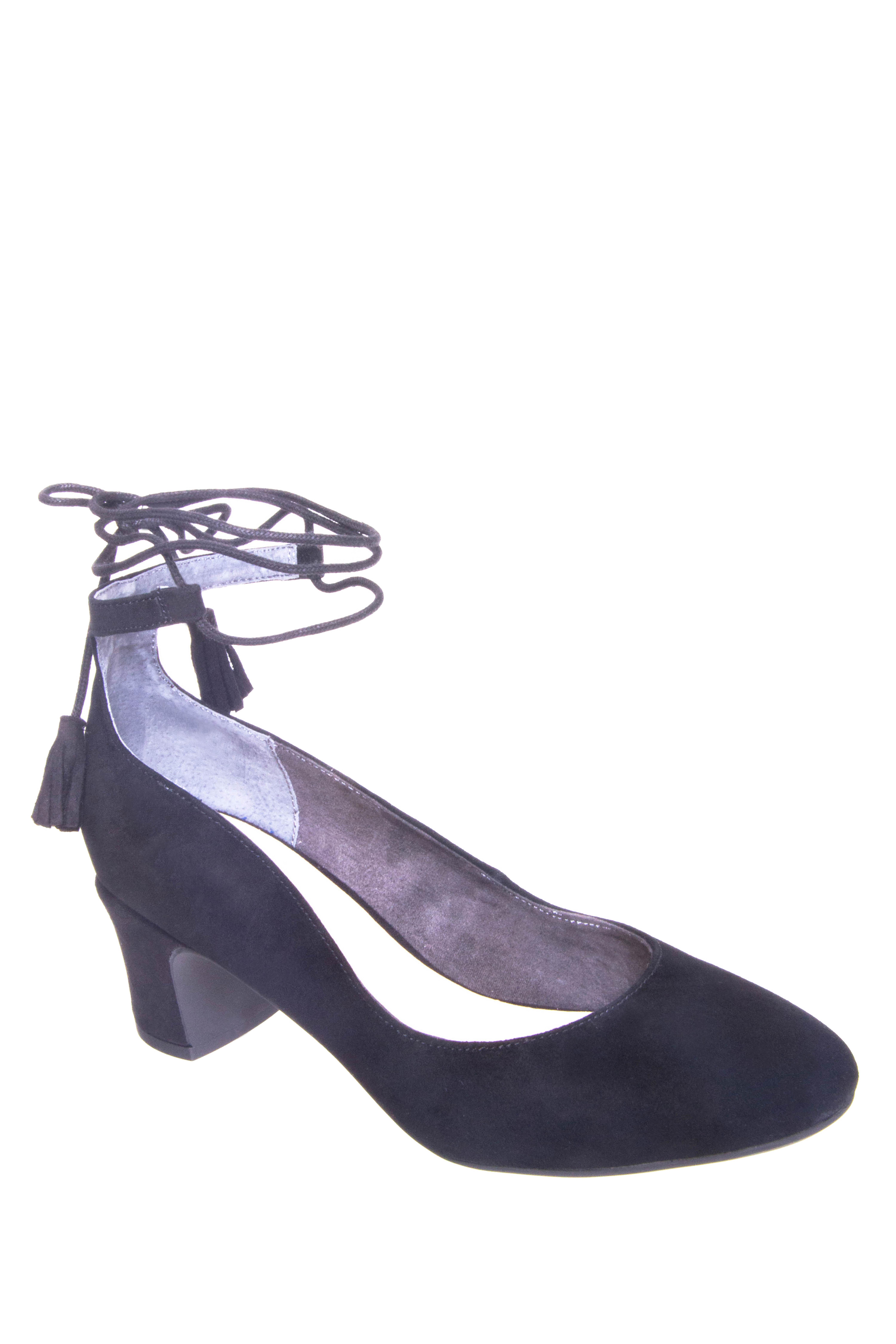 Seychelles Trick Mid Heel Pumps - Black