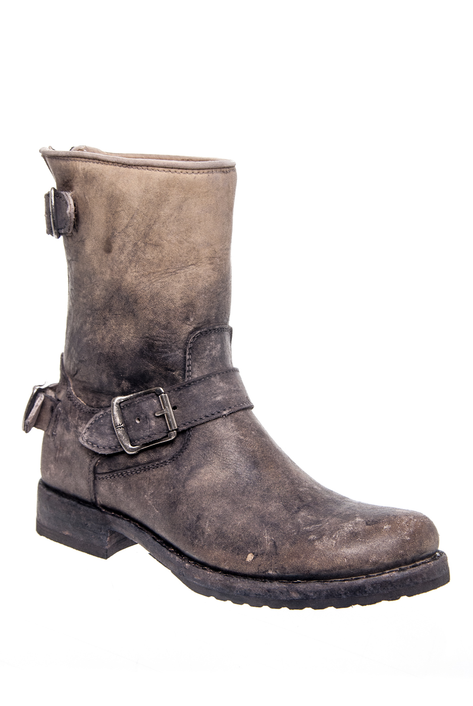Frye Veronica Mid Calf Boots - Stone