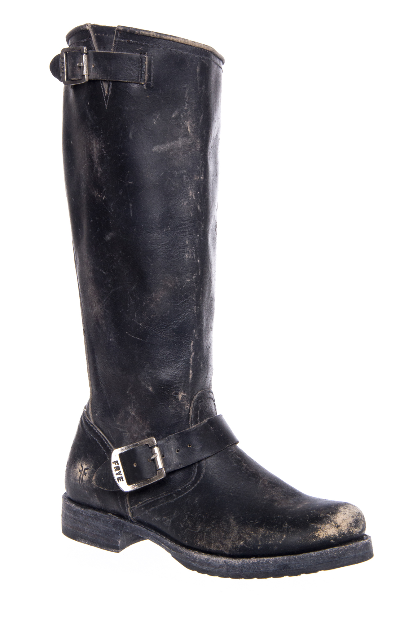 Frye Veronica Slouch Knee High Boots - Black