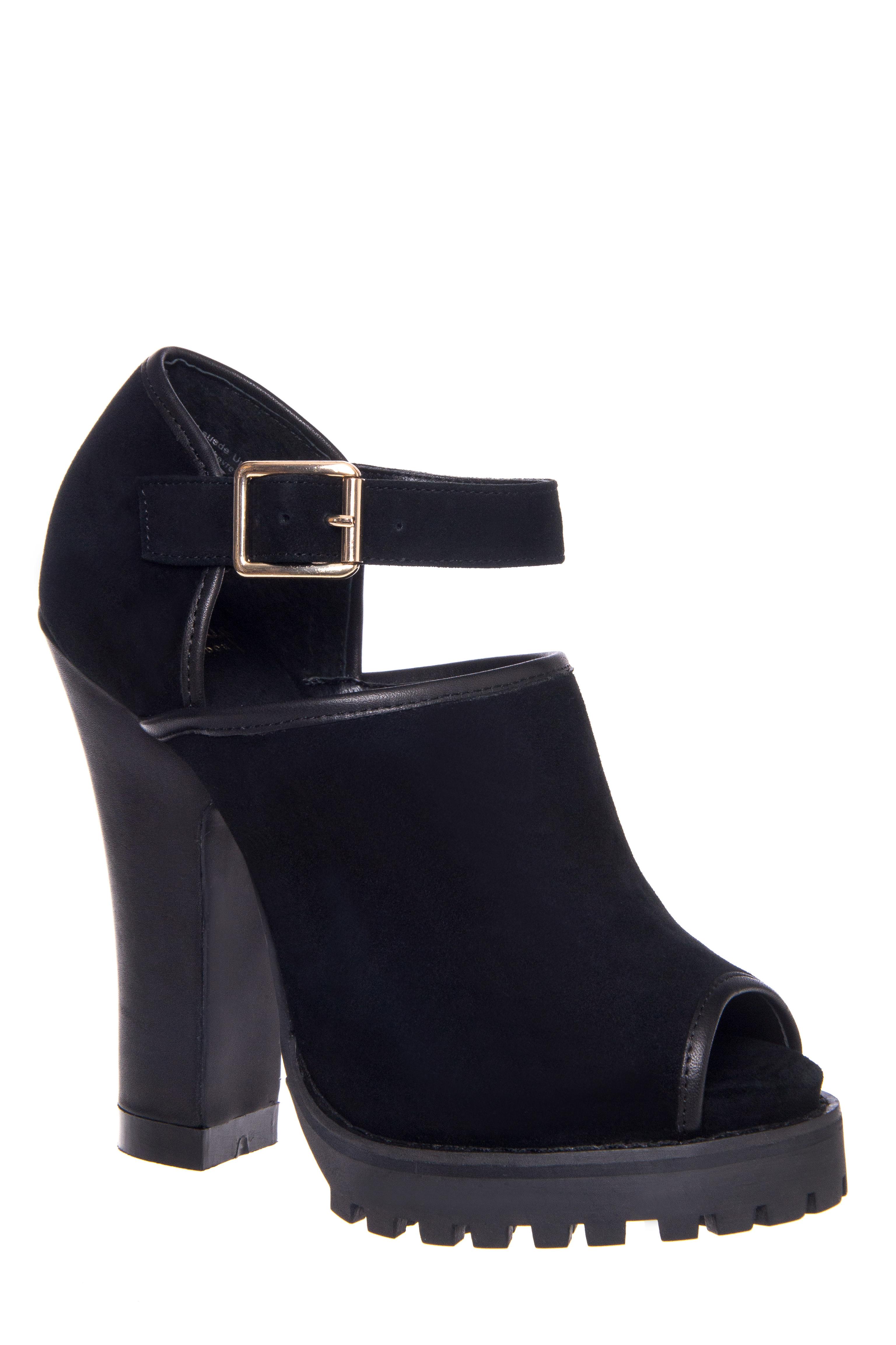 Shellys London Acywen High Heel Pumps - Black Suede