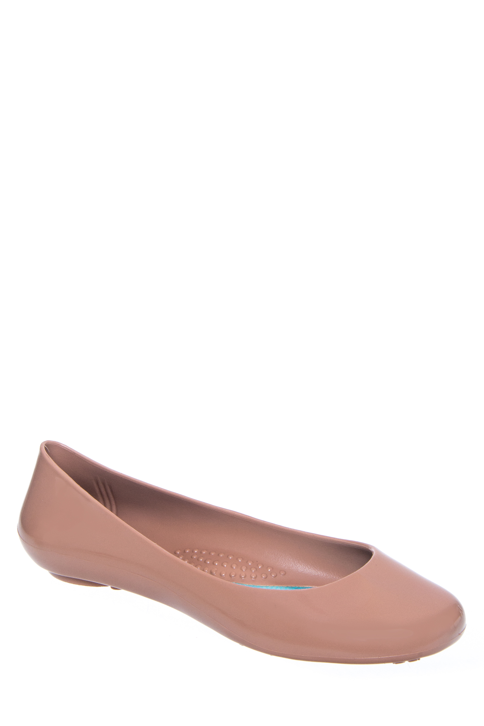 e19deaa58fc6e4 886782011898. OKA B. Taylor Round Toe Jelly Flat Shoe - Blush Size 9