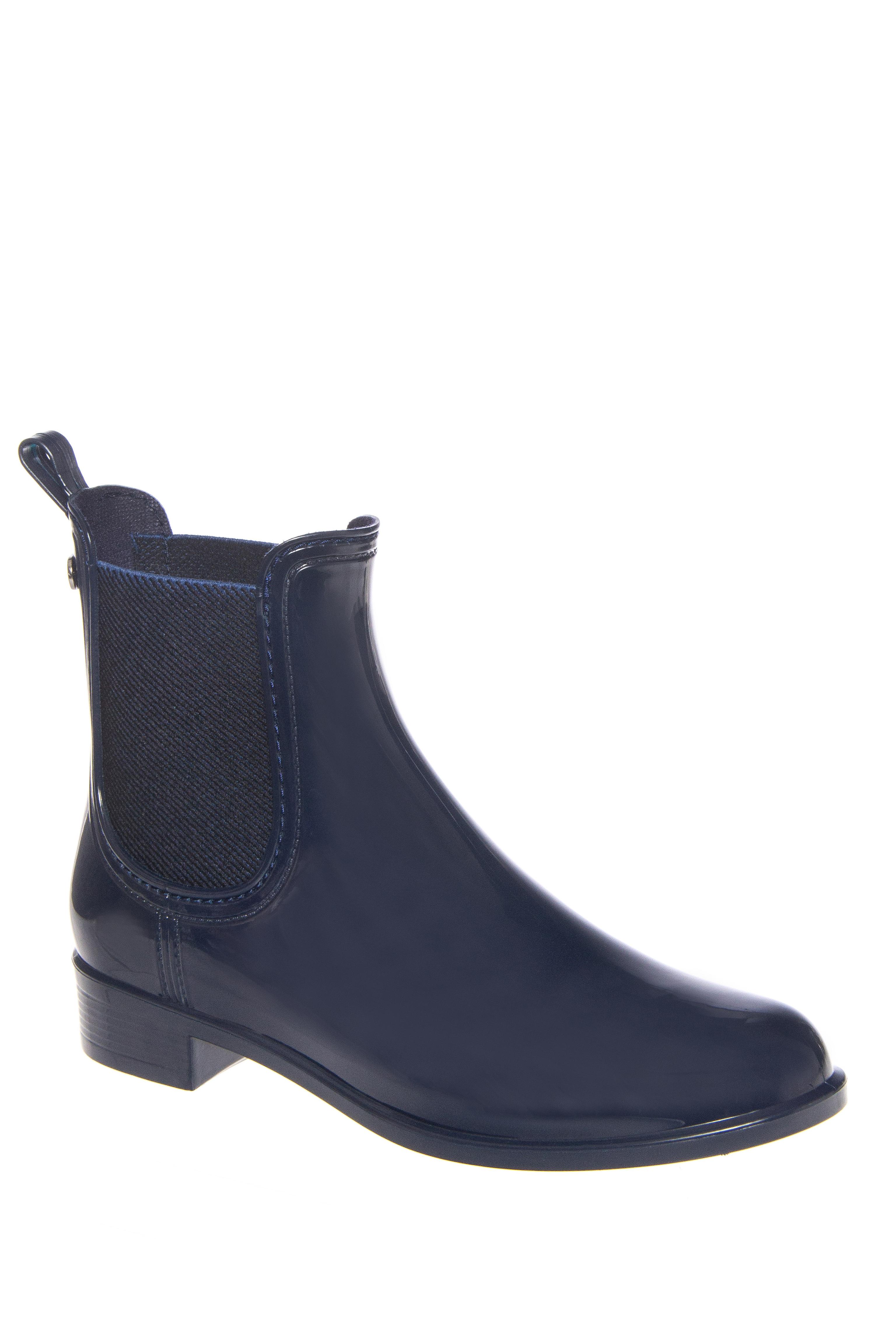 Igor Urban Low Heel Rain Boots - Navy