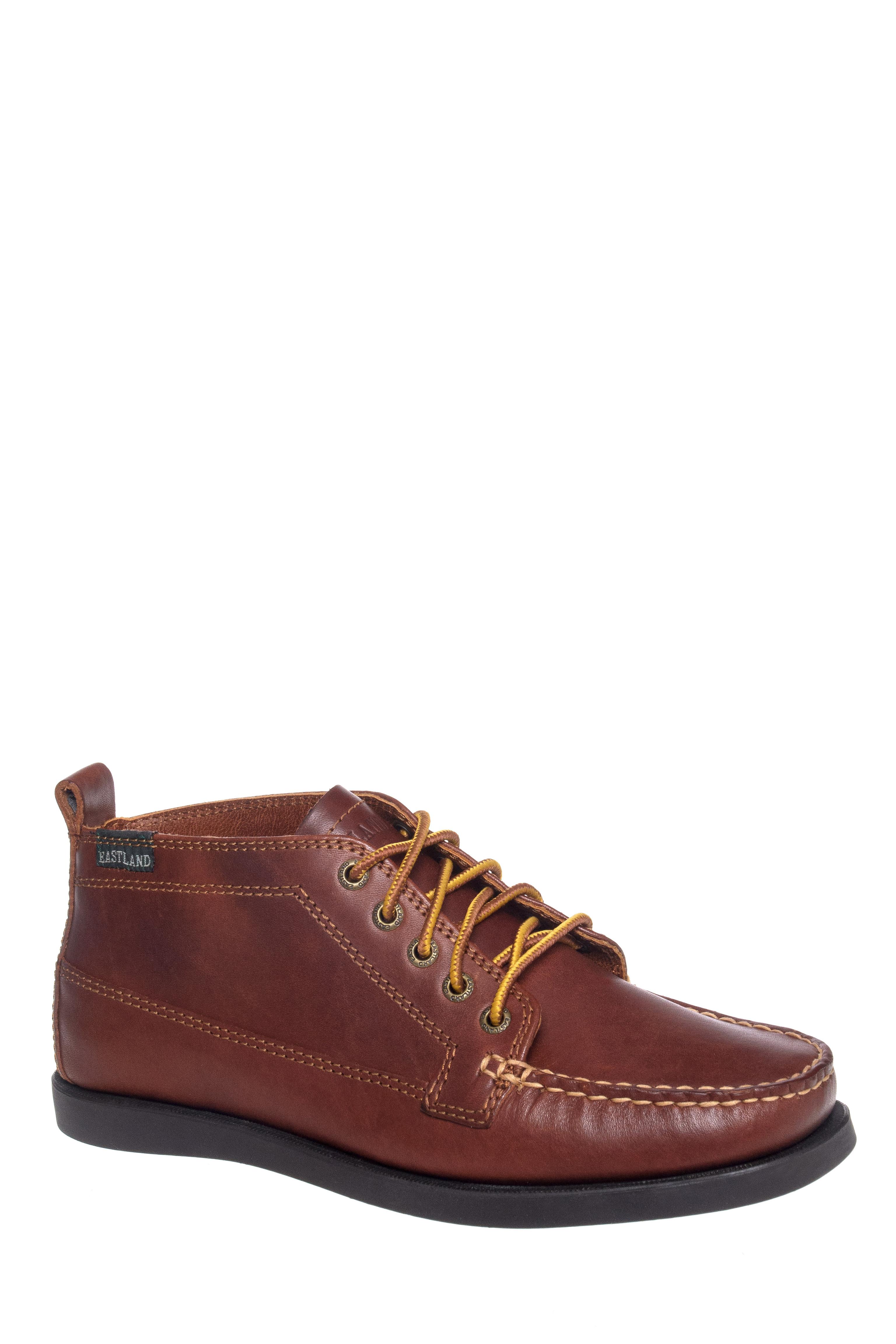 Eastland Seneca Moccasins Chukka Boots - Tan
