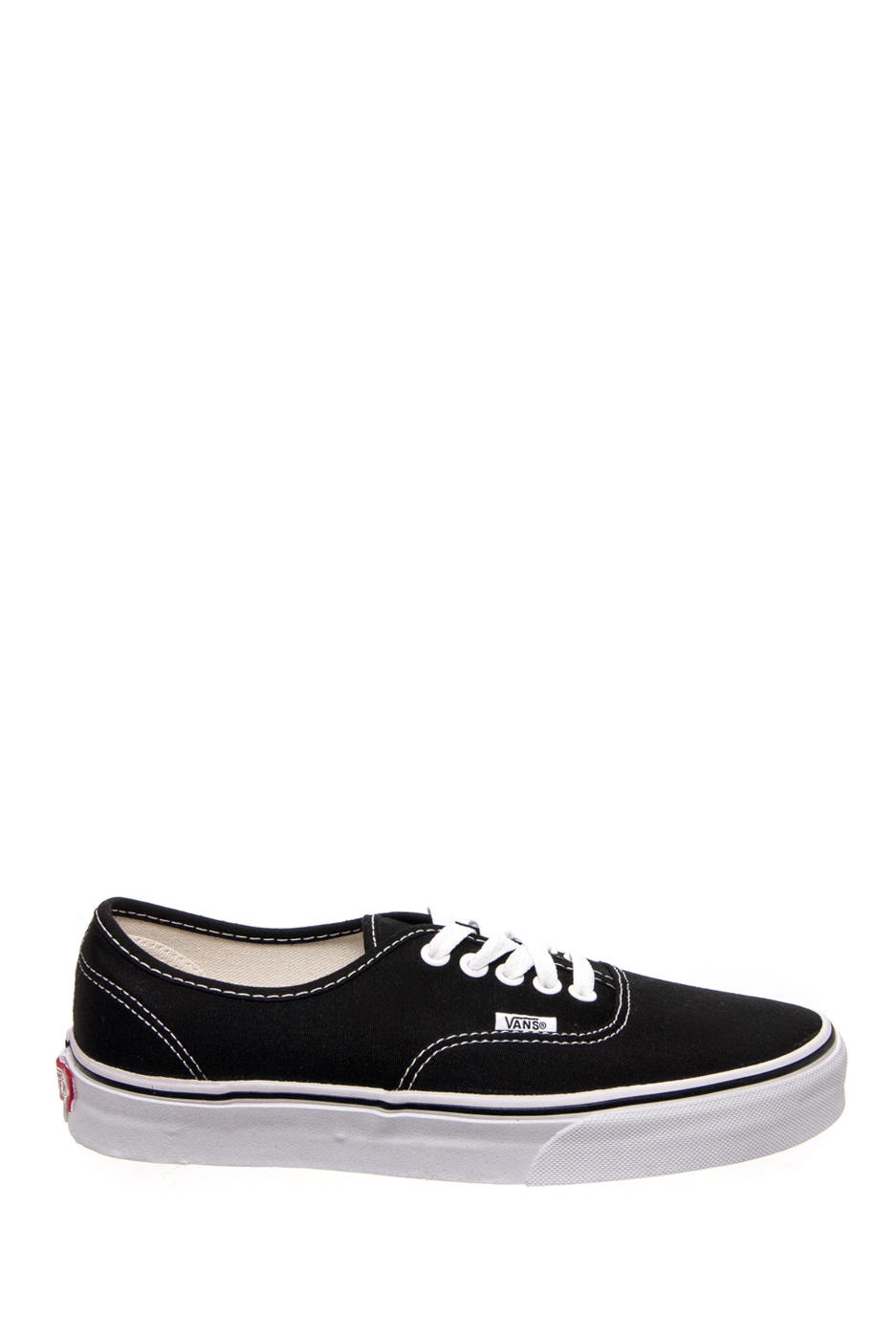 05a6f66f3be3dc Vans VN-0EE3BKA Unisex Authentic Classic Canvas Low Top Sneakers - Black    White