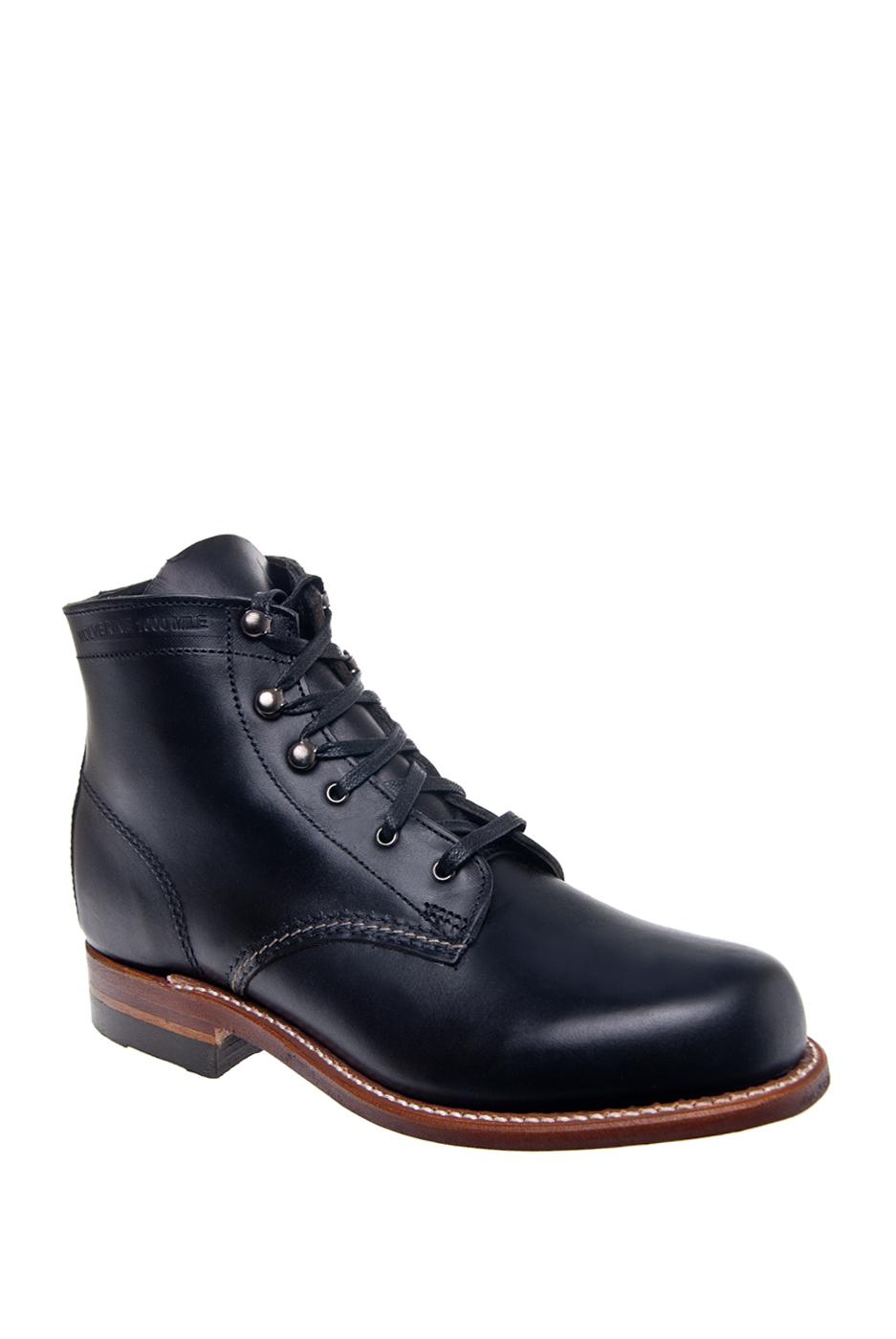 Wolverine 1000 Mile Low Heel Boots - Black