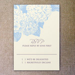Hydrangea Invitation Template